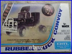 ERTL 1/25 Blueprint Replica Mack Rubber Duck Convoy new all there Model Kit