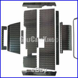 EZGO TXT Golf Cart ALL AMERICAN Diamond Plate Accessory Kit with Floor Pannels