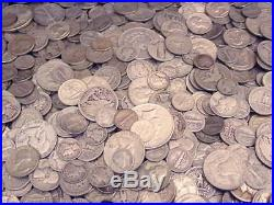 Ebay's Best All 90% US Old Silver Estate Coins Lot 3 lbs No Junk with Dollars