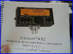 Elecraft kx2 tranciever used only twice as i have got k3 with all the trimmings
