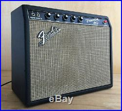 Fender Princeton Blackface Amp 1966, Near Mint, All Original, Super Clean