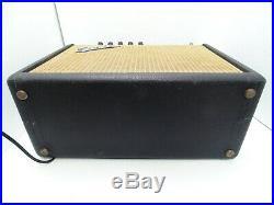 Fender Vibro Champ May 1966 Blackface All Original Vintage Guitar Amp AA764