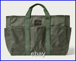 Filson Workshop Utility Tote NEW 20117335 Otter Olive Bag Carry All Waxed
