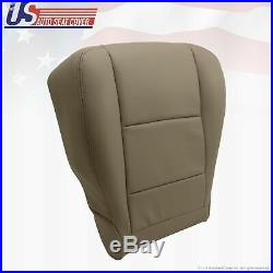 Fits 2000-2004 TOYOTA TUNDRA Driver Bottom All Synthetic Leather Seat Cover Tan