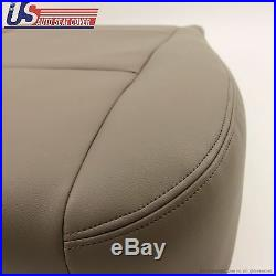 Fits 2001-2004 TOYOTA SEQUOIA Driver Bottom All Synthetic Leather Seat Cover Tan