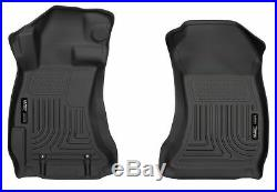 Floor Liners fit 2015-2019 Subaru WRX STI Front and Rear Mat Set WeatherBeater