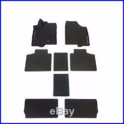 For Toyota Sienna 2013-2018 All Weather Rubber Tub Floor Mats PT908-08170-02