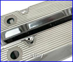 Ford 351 Cleveland Valve Covers Polished All Fins Die-Cast Aluminum- Ansen USA