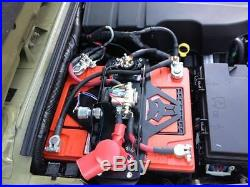 Genesis Offroad Dual Battery Kit 200 Amp Isolator & G Screen 12-18 Jeep Wrangler