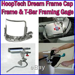 Gens 2 HoopTech Dream Cap Frame & T-Bar Gage Brother all PR600 Series & BabyLock