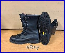 Genuine Us Army Danner Fort Lewis Goretex All Leather Black Mint New! 10d
