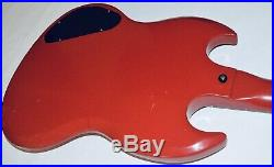 Gibson Melody Maker Sg 1966 Cardinal Red All stock