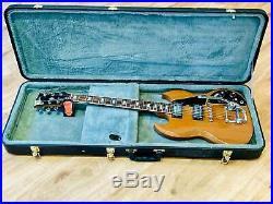 Gibson SG Deluxe 1972 Walnut, All original excellent condition. Embossed Gibson