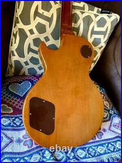 Gibson Vintage 1969 Les Paul Deluxe Goldtop All Original No Breaks Original Case