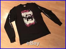 HORRO ALIENS CHEST BUSTER 1991 VTG Shirt vs Predator chucky Freddy marvel all