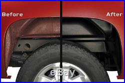 HUSKY 79101 Wheel Well Guards for 07-14 FORD F150 F-150 Pickup Rear Fenders ALL