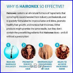 Haironex-All-natural formula -Healthy Hair Growth Supplement 3pck