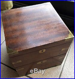 Hamilton Old Marine Chronometer load manual all original number 694
