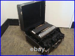 Hard Shell Fender Accordion Case Fits All 3-Row Hohner Corona II III & Xtreme