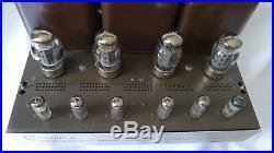 Harman Kardon Citation II 2 tube amp Amplifier RARE ALL ORIGINAL