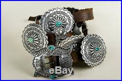 Heritage Heavy Stamped Concho Belt All Sizes by Sundance Leather Catalog Artist