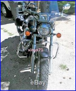 Highway Engine Guard Crash Bar For Honda VTX 1300 R S C Tourer Models All Years