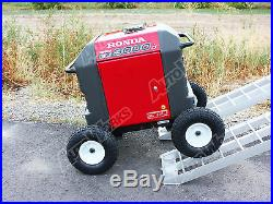 Honda Generator wheel kit EU3000is SOLID NEVER FLAT TIRES All Terrain