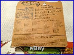 Hot Wheels Redline PURPLE BYE FOCAL All Original Blister pack Rare Color Sweet