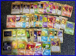 Huge 750+ Japanese Pokemon Card Bulk Collection Lot All WOTC Sets Base-Neos