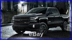 Husky Liners Weatherbeater 2014-2018 Silverado Sierra Crew Cab Floor Mats BLACK