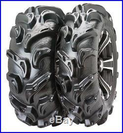 ITP Mega Mayhem 27 Inch Mud Tire set (All 4 tires) ATV UTV 27-9-14 and 27-11-14