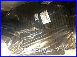 Infiniti 2014-2019 OEM QX60 All Season Black Floor Mats Black 999E1-R5000