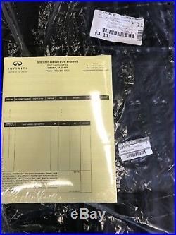 Infiniti QX80 All Season Black Floor Mats Black 999E132000 999E1-36000 2014+