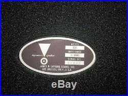 JBL 375 drivers, H93 horns, serial. # one apart, all wax seals (PAIR)