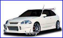 KBD Body Kits BC Spec Polyurethane Front Bumper Fits Honda Civic ALL 96-98