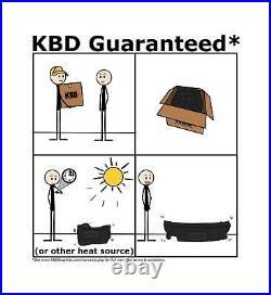 KBD Body Kits BW Spec Polyurethane Front Bumper Fits Honda Civic ALL 01-03