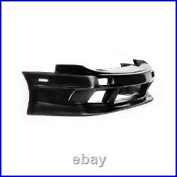 KBD Body Kits GP1 Style Polyurethane Front Bumper Fits Nissan 240SX ALL 89-94