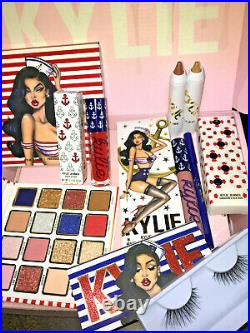 KYLIE Cosmetics SAILOR COLLECTION BUNDLE Full Set LIMITED EDITION Lashes LIP KIT
