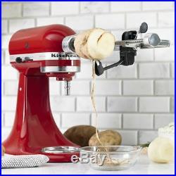 KitchenAid Spiralizer Attachment (Fits all KitchenAid Stand Mixers) Includes 3