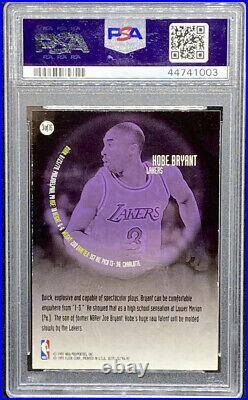 Kobe Bryant 1996-97 Fleer Ultra All Rookie RC #3 Lakers PSA 8.5 POP 9