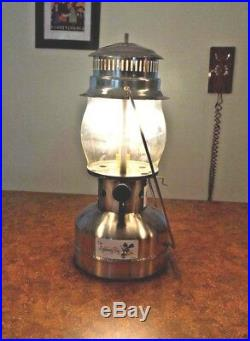 LIGHTNING BUG AMISH MADE / ALL SS + BRASS- 1,000 CP Pressure Lantern NEWithRARE