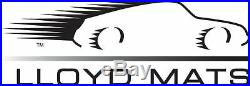LLOYD Classic Loop Ebony FLOOR MAT SET, ZL1 Logo on all 4 Mats 2012-2015 Camaro