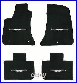 LLOYD Velourtex FLOOR MAT SET logo on all 4 mats 2011 to 2018 Chrysler 300 RWD