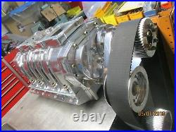 LS-1 2 3 Mooneyham New complete Blower kit 8-71 show polished all Chevy hot rod