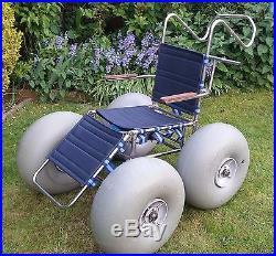 Landeez Dune Buster All Terrain Wheelchair Beach Chair