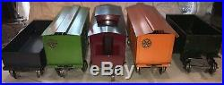 Lionel #5 Loco w All Five 100-Series Freight Cars Several C8 w OB