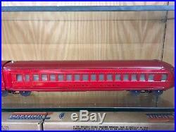 Lionel O Gauge 700E Rail Chief Set 709W with all Original Boxes Fantastic
