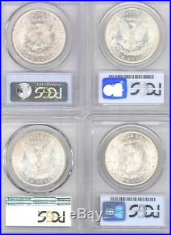 Lot of 12 Different Morgan Silver Dollars All PCGS MS 64