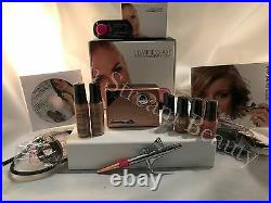 Luminess Air Airbrush Legend Rose Gold System&Pink Tip Stylus 4pc Med. Kit