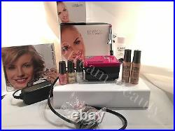 Luminess Air Airbrush Makeup Legend Pink System&Pink Tip No Drip Stylus 5pc Med